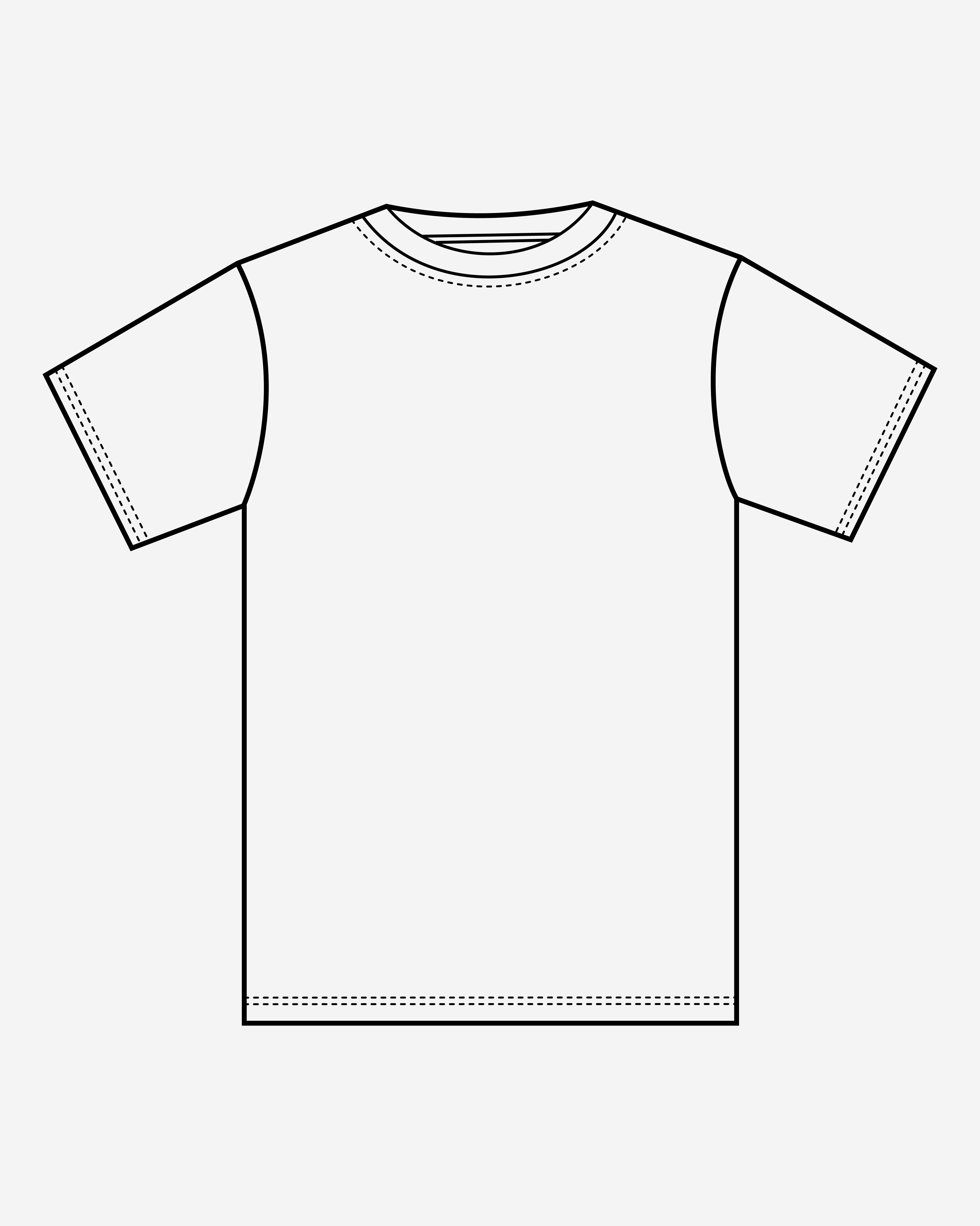 Pola Kaos-01
